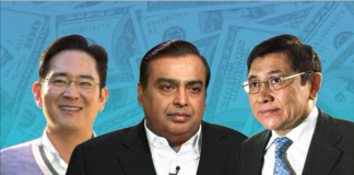 top 50 richest families in asia 2018