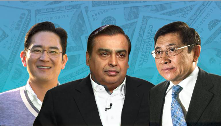 Top 50 Richest Families In Asia 2018 Newsblare