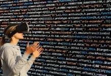 Cyber glasses exploring virtual world