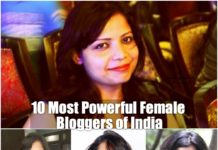 10 most powerful female bloggers of India
