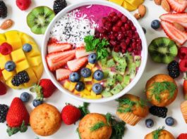 tips for a healthy diet fruits, vegetables...