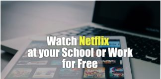 Netflix unblocked at school