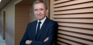 Bernard Arnault world's second richest person