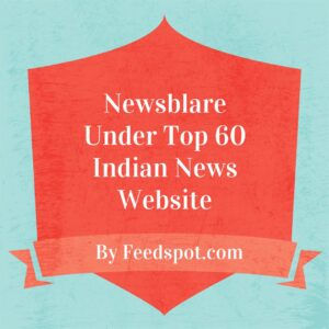 Newsblare under top 60 news website
