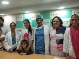 Preventive surgery of a 37-year-old Riti from breast cancer