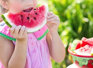 Child taking Sufficient Nutrition