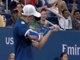 US Open fined Mike Bryan $10000 for pointing shooting
