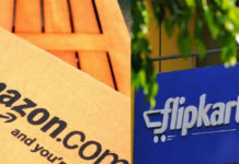 E-commerce companies : Amazon and Flipkart