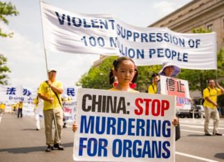 organ harvesting parade China
