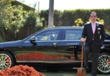 Brazilian billionaire want to bury his million-dollar Bentley