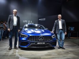Mercedes Benz launched New Cars at Auto Expo.