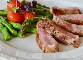 Keto Diet Meal Plan: Healthy meat and vegetables