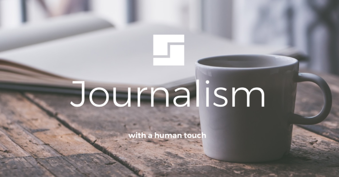 journalism with a human touch