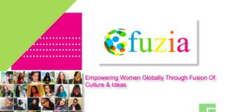 . Fuzia, an online women networking community has been created which showcases creative expression, learning and mutual support.