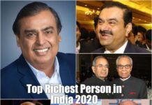 top richest person in India
