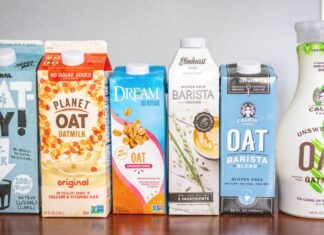Plant-based milk oat milk