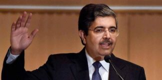 Uday Kotak to invest in India