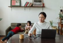 employees work from home