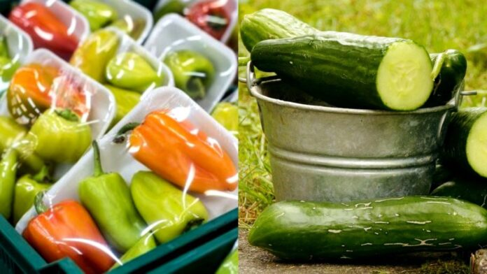 Food packaging from cucumber