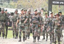 Indian Army cloth materials