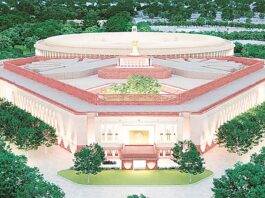 new parliament building India
